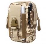 """Противоударный чехол Military Tactical Bag для смартфонов 5.7"""" (Тип-4)"""