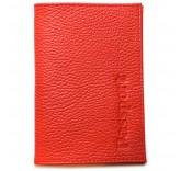 Кожаная обложка для паспорта Matoon красная