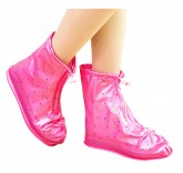 Дождевик для обуви розовый, размер L (39/40)