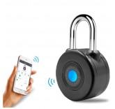 Умный Bluetooth замок Anboud Smart Padlock с функцией сигнализации для багажа