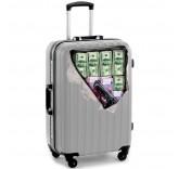 Наклейка на чемодан Олигарх