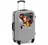 Наклейка на чемодан Русский мишка