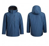 Куртка с подогревом Xiaomi CottonSmith 2 in 1 multi-zone heating smart down jacket Blue (size-XL)