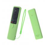 Силиконовый чехол с ремешком Sikai Case для пульта Xiaomi Mi Box S (салатовый)
