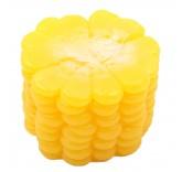 Искусственный кусок початка кукурузы для фотосъемки и декора, муляж овощей 3,2 см