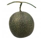 Искусственная канталупа для фотосъемки и декора, муляж фруктов 15 см