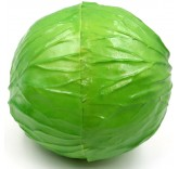 Искусственная капуста для фотосъемки и декора, муляж овощей 11 см