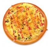 Искусственная пицца для фотосъемки и декора, муляж выпечки 17 см