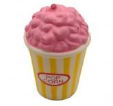 Искусственное пирожное Pop Corn для фотосъемки и декора, муляж пирожного 11,5 см