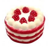 Искусственное пирожное для фотосъемки и декора, муляж пирожного 6,5 см