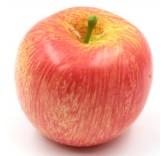 Искусственное яблоко красное для фотосъемки и декора, муляж фруктов 7,2 см