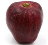 Искусственное яблоко красное для фотосъемки и декора, муляж фруктов 8 см