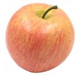 Искусственное яблоко красное для фотосъемки и декора, муляж фруктов 6,5 см