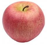 Искусственное яблоко красное для фотосъемки и декора, муляж фруктов 7,3 см