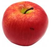Искусственное яблоко красное для фотосъемки и декора, муляж фруктов 7 см
