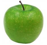 Искусственное яблоко зеленое для фотосъемки и декора, муляж фруктов 7,1 см