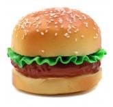 Искусственный гамбургер для фотосъемки и декора, муляж выпечки 8 см