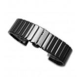 Керамический браслет для Xiaomi Amazfit Bip (черный)