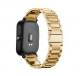 Металлический браслет для Xiaomi Amazfit Bip (золото)