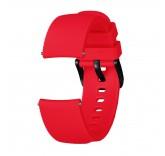 Ребристый ремешок для Xiaomi Amazfit Bip (красный)