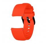 Ребристый ремешок для Xiaomi Amazfit Bip (оранжевый)