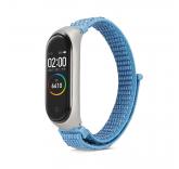 Нейлоновый ремешок для Xiaomi Mi Band 4 (голубой)