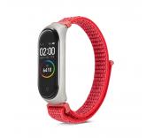 Нейлоновый ремешок для Xiaomi Mi band 4 (красный)