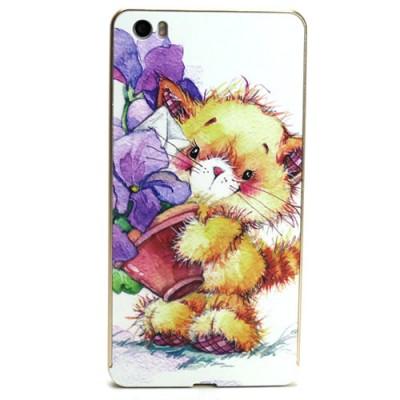 Купить Алюминиевый чехол-бампер для Xiaomi Mi Note (Медвежонок) с доставкой по России