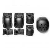 Защитный набор (Шлем, наколенники, налокотники, наладонники)