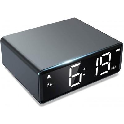Купить Настольные электронные часы NOKLEAD с беспроводной зарядкой с доставкой по России