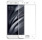 Защитное стекло с рамкой для Xiaomi Mi6 (White)