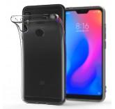 Силиконовый чехол-бампер для Xiaomi Mi A2 Lite (Прозрачный)