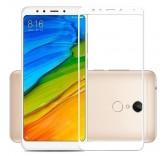 Защитное стекло для Xiaomi Redmi 5 (Белое)