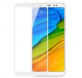 Защитное стекло с рамкой для Xiaomi Redmi Note 5 (White)