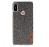 Силиконовый чехол-бампер для Xiaomi Mi A2 Lite (Серый)