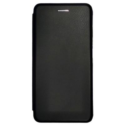 Купить Кожаный чехол-книжка для Xiaomi Redmi S2 (Черный) с доставкой по России