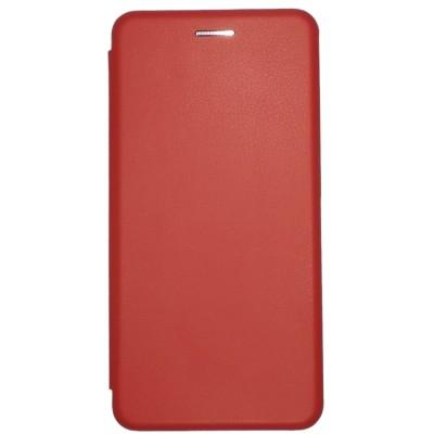 Купить Кожаный чехол-книжка для Xiaomi Redmi S2 (Красный) с доставкой по России