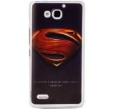 Силиконовый чехол-бампер для Huawei Honor 3X (Супермен 2)