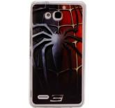 Силиконовый чехол-бампер для Huawei Honor 3X (Человек Паук)