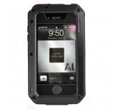 Противоударный чехол Lunatik black для iPhone 4/4S