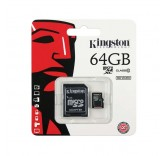 Карта памяти Kingston micro SDCX 64GB class 10