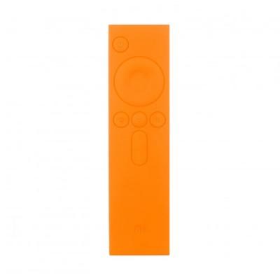 Купить Силиконовый чехол для пульта ТВ приставки Xiaomi Mi Box (Оранжевый) с доставкой по России