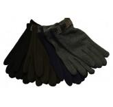 Сенсорные перчатки Cheng утепленные с пуговицей