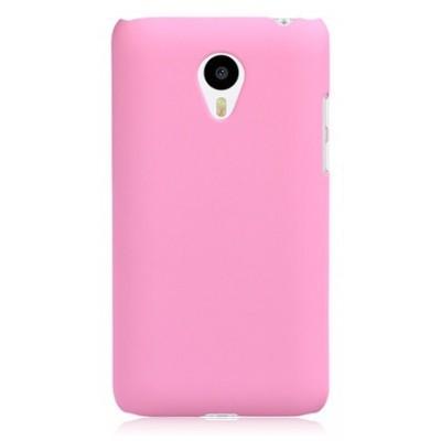 Купить Пластиковый чехол для Meizu M1 Note розовый с доставкой по России