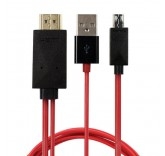 HDTV MHL адаптер 2 метра (Micro USB type-B)