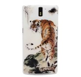 Пластиковая крышка для OnePlus One (Амурский тигр)