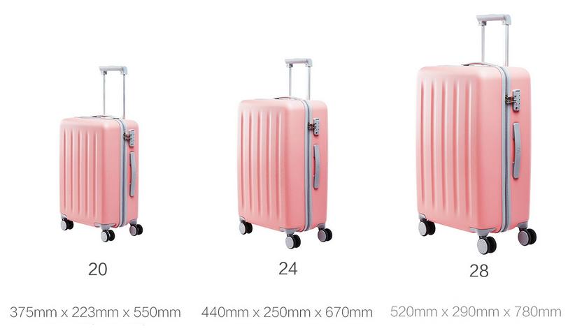 Купить Чемодан Xiaomi 90 Points Travel Suitcase 24 дюйма Maсaron ... 1bf1b9e1d3a